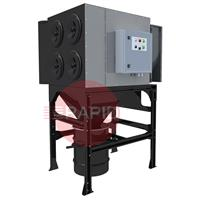 0000100835 Plymovent MDB-4F MultiDust Bank (plug & play) Central Filter System with integrated fan, 400 - 480v 3ph