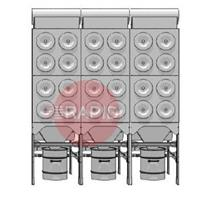 0000100857 Plymovent MDB-24/H MultiDust Bank Central Filter System Package