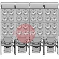 0000100859 Plymovent MDB-32/H MultiDust Bank Central Filter System Package