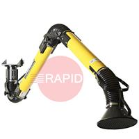 000010112X Plymovent MiniMan 100 Extraction Arm with Hanging Mounting - ATEX Version