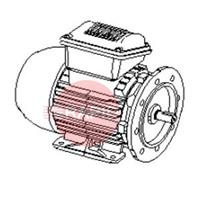 0000101348 Motor 2,2 kW; 230-400V/3ph/50Hz