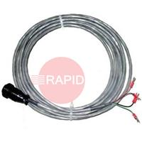023206 HYPERTHERM CNC INTERFACE CABLE 7.6m. For use when divided arc voltage is not required.