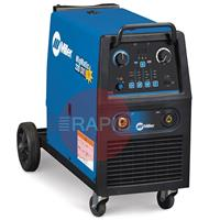 029015521P Miller Migmatic 220 DX Synergic Mig Welder Package with digital meters, 230v