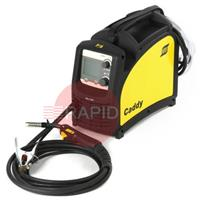 0349312030 ESAB Caddy Mig C200i Mig Welder Package with 3m Mig Torch, Earth, Gas Hose & 1kg A18 Wire, 230v CE