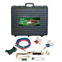 0385-0552 Victor G250 Deluxe Cutting and Welding Outfit, with Bottom Entry Oxy & Acetylene Regulators