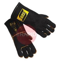 0467222007 ESAB Heavy Duty Black Welding Gloves