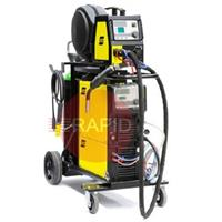 0479000003 ESAB Mig 4004iw Water Cooled Mig Pulse Package (U8.2) with Aristo Feed 3004w, U82 Plus Pendant, 4.5m Torch & 10m intercon