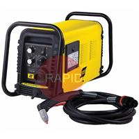 0559119314 ESAB Cutmaster 120 Plasma Cutter with 15m SL100 Hand Torch, 40mm Cut, 400v 3ph CE