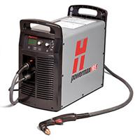 059416 Hypertherm Powermax 105 Plasma Cutter, Power Supply with CPC port and 7.6m Hand Torch, 400v CE