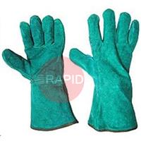 060236S Gauntlets - Green Superior Quality