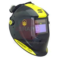0700000405 ESAB Warrior - Black, Air Fed Welding Helmet