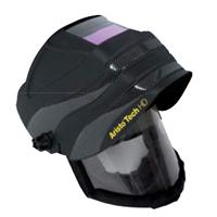 0700000467 ESAB Aristo Tech HD Air Fed Welding Helmet with Internal Visor