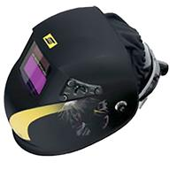 0700000964 ESAB New-Tech 9-13 ADC Plus prepared for Fresh air & hard hat.