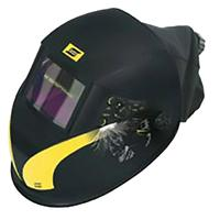 0700000966 ESAB New-Tech 6-13 XL ADC Plus Welding Helmet prepared for fresh air.