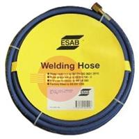 071262103P ESAB Oxygen Hose - Blue, 10mm x 5m, Fitted 3/8