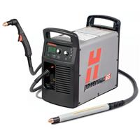 083301 Hypertherm Powermax 65 Value System with 75 Degree Hand and 180 Degree full-length machine torches, (7.6m) 400v CE
