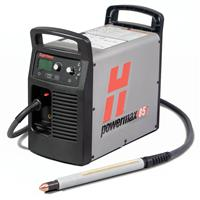087124 Hypertherm Powermax 85 Plasma Package 400v CE. With CPC port and selectable voltage ratio. 7.6m M85 Machine Torch, Earth Cable & Remote Pendant.