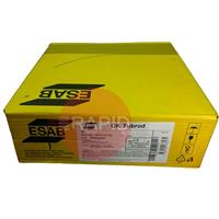 1500127630 ESAB OK TUBROD 15.00 1.2mm Flux Cored Wire, 16Kg Carton. E71T5-M21A2-CS1-H4