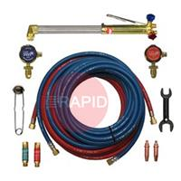 2037 Contractors 10m Complete Cutting Set ( Acetylene ).