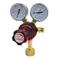 2047 Co2 Regulator with 2 Gauges, W21,8x14/1