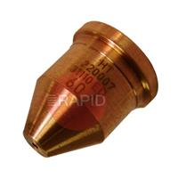 220064 Hypertherm Extended Nozzle. Unshielded Machine Cutting 100 Amp (Pack of 5)