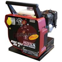 35.22264 Mosa Magic Weld 150 MKII Petrol Welding Generator