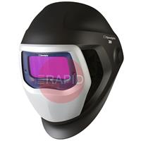 3M-501815 3M Speedglas 9100X Welding Helmet with Side Windows, 5/8/9-13 Variable Shade