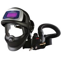 3M-548805 3M Speedglas 9100V FX Air Welding Shield and 3M Versaflo V500E Regulator, 5/8/9-13 Variable Shade, 45mm x 93mm Lens Viewing Area