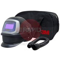 3M-549005 3M Speedglas 9100V FX Air Welding Shield with TH3 Upgrade Kit
