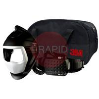 3M-567700 3M Speedglas 9100 Air Welding Helmet with New Adflo Powered Air Respirator, No Lens
