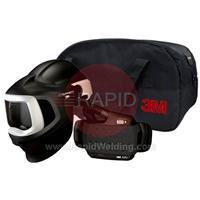 3M-577700 3M Speedglas 9100 MP Welding Helmet with New Adflo Powered Air Respirator, No Lens