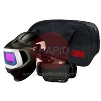 3M-577715 3M Speedglas 9100X MP Welding Helmet with New Adflo Powered Air Respirator, 5/8/9-13 Variable Shade, 54mm x 107mm Lens Viewing Area