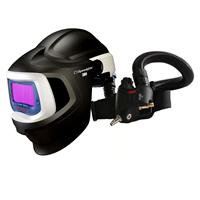 3M-578815 3M Speedglas 9100X MP Welding helmet with 3M Versaflo V500E Supplied Air Regulator, 5/8/9-13 Variable Shade, 54mm x 107mm Lens Viewing Area