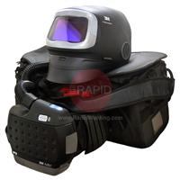 3M-617830 3M Speedglas G5-01 Welding Helmet with Adflo PAPR System & G5-01VC Variable Colour Filter