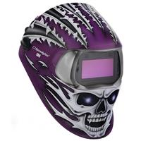 3M-752620 3M Speedglas 100V Raging Skull Welding Helmet, Variable Shade, 3/8-12