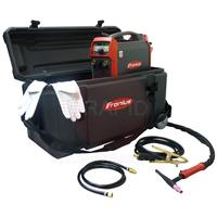 4,075,226,858 Fronius TransTig 210 MV Pulse TIG Inverter Welder Site Box Package with THP 180 4m TIG Torch, 110v/230v