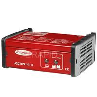 4.010.009 Fronius Acctiva 12-10 Wet & Gel, 12v - 10A Battery Charging system with 1.5m Charging Leads