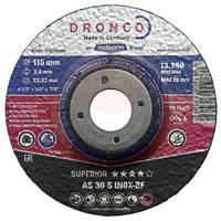 412MG 115mm x 6.4 mm DPC, Grinding Disc for Steel