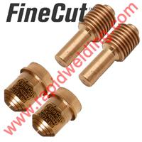 428244 Duramax LT Finecut Nozzle and Electrode Pack (Contains 2 x 420117 Nozzles & 2 x 420120 Electrodes)