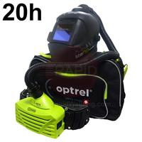 4540.000.GL Optrel Liteflip Autopilot Welding Helmet and E3000 20 Hours PAPR System, Ready to Weld Package