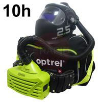 4580.001.G Optrel Vegaview 2.5 Auto Darkening Welding Helmet and E3000 10 Hours PAPR System, Ready to Weld Package