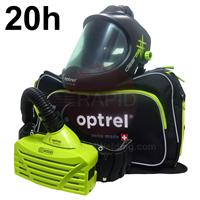 4900.202.GL Optrel Clearmaxx Helmet and E3000 20 Hours PAPR System, Ready to Weld Package