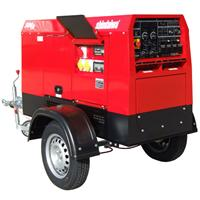 500UK Shindaiwa 500 UK Diesel Driven Welder Generator with Road Trailer