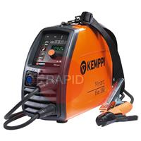 61002180 Kemppi Minarc Evo 180 MMA Arc Welder, 230v Including Arc Cable, Earth Clamp & Shoulder Strap