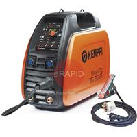 61009200MLP Kemppi MinarcTig Evo 200 MLP Power Source with Earth Cable Gas Hose. No Tig Torch. 230v