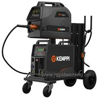 6103350XBPAC Kemppi FastMig X 350 Pipe Air Cooled Mig Welder Package, 400v 3ph