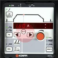 6116000 Kemppi MTL Function Panel.