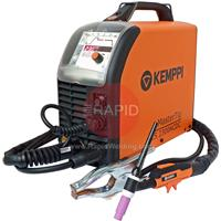 6162300ACS Kemppi MasterTig 2300 MLS AC/DC ACS Ready to Weld Tig Welder Package. 230v CE