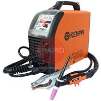 6162300ACX Kemppi MasterTig MLS 2300 ACX AC/DC Ready to Weld Tig Welder Package.230V CE