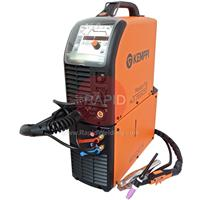6162300WACS Kemppi MasterTig 2300 MLS ACS Water Cooled AC/DC Tig Welder Package, 230v CE